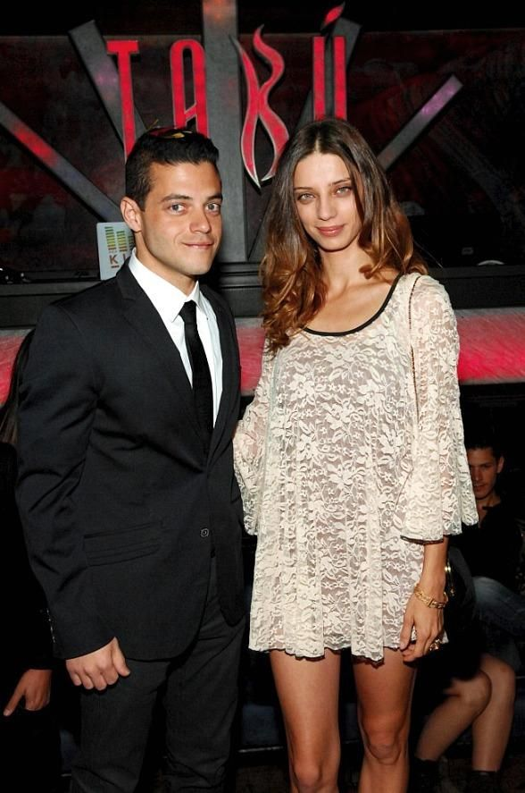 Angela Sarafyan and Rami Malek of 'The Twilight Saga ...