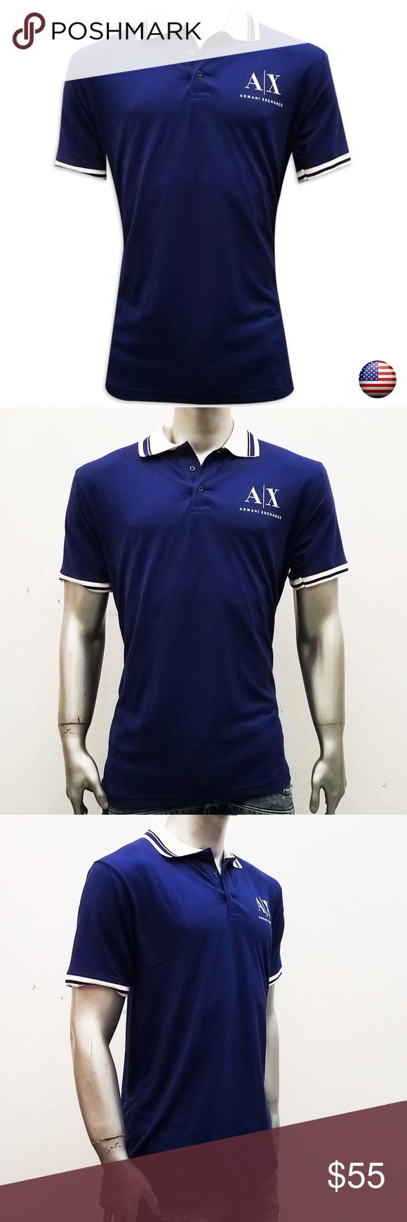 a124f1bc2a Armani Exchange Polo Shirt Size Chart - Armani exchange polo shirt ...