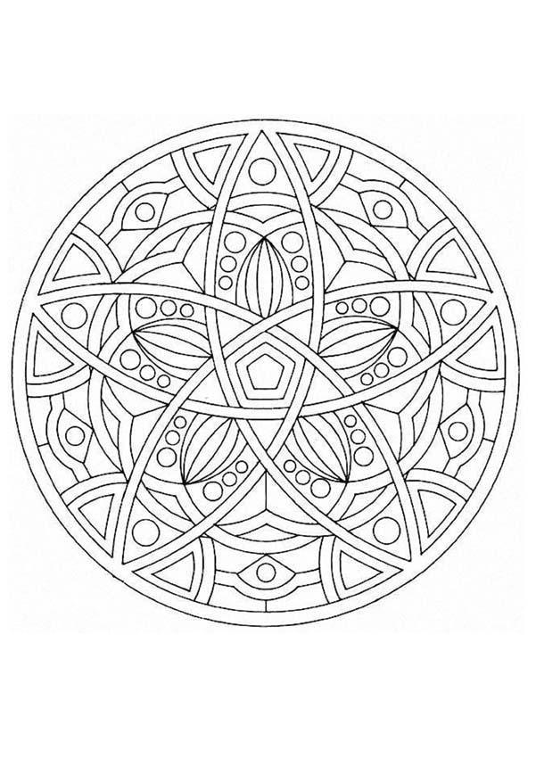 Mandalas For Experts Mandala 49 Mandala Coloring Pages Mandala Coloring Coloring Pages