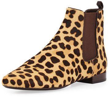 0b9ba01b8fd Tory Burch Orsay Calf-Hair Chelsea Boot