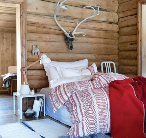 The guest room of my future hunting lodge… may not hit the slopes. Anette Willemine.