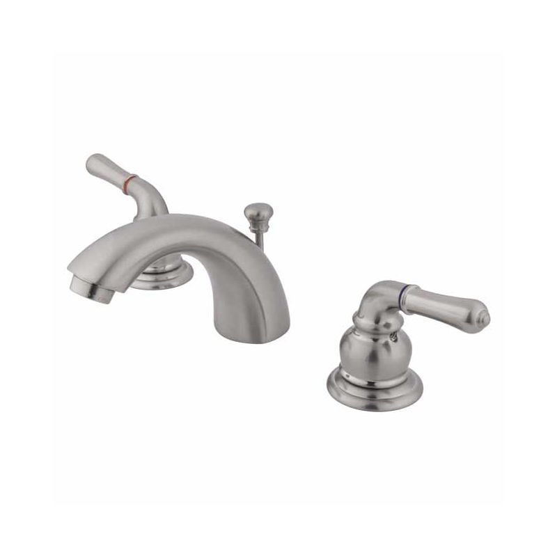 Kingston Brass KB94.B Victorian Mini-Widespread Bathroom Faucet with ...