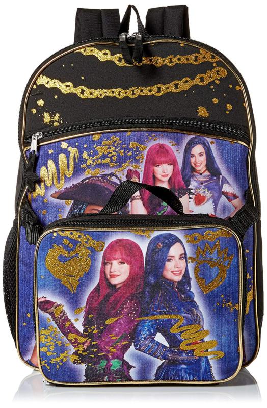 076b312e30 Disney Girls  Descendants Backpack with Lunch Blue (eBay Link ...