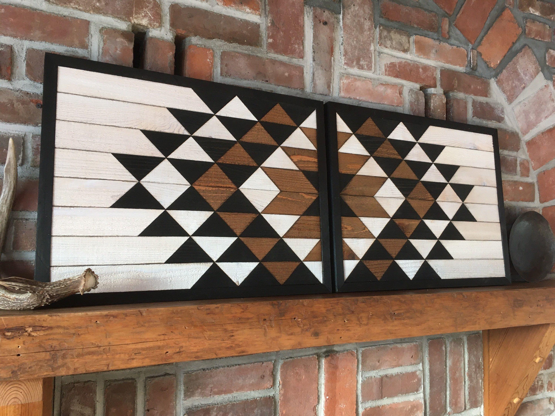 Flagstaff V2 Reclaimed Wood Wall Art Southwestern Wood Etsy Reclaimed Wood Wall Art Reclaimed Wood Wall Wood Wall Art