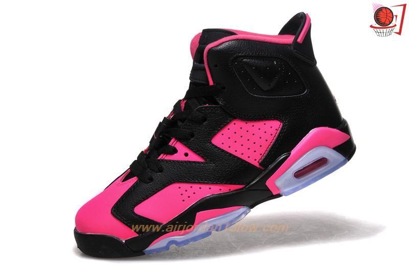 jordan retro black and pink