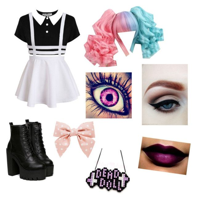 """× Play Date {Melanie Martinez} × ©"" by khodionna ❤ liked on Polyvore featuring Forever New"
