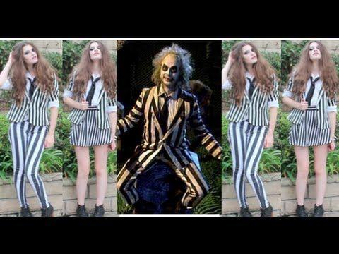 Beetlejuice makeup hair diy costume halloween tutorial beetlejuice makeup hair diy costume halloween tutorial solutioingenieria Image collections