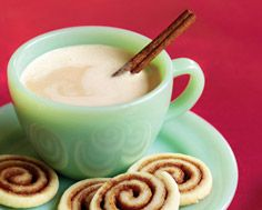 Cinnamon Roll Shortbread Cookies
