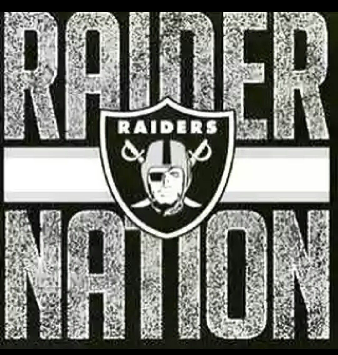 Only one Nation Raider Nation Pinterest Raiders Raider