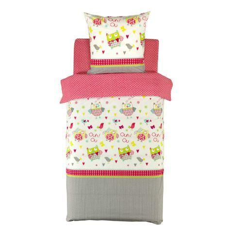 linge de lit multicolore Ensemble de linge de lit enfant : parure et drap housse  linge de lit multicolore