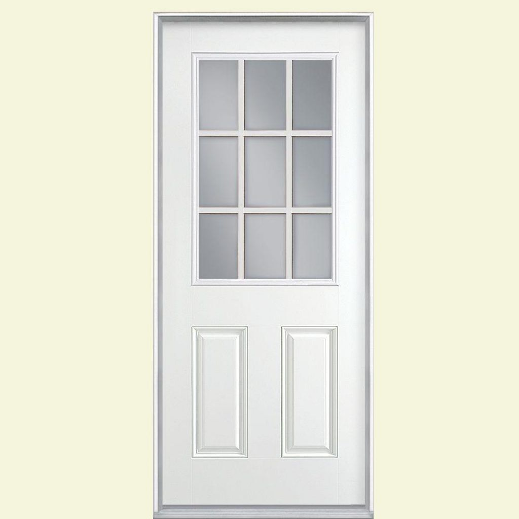 9 Lite Exterior Door Fiberglass Httpthefallguyediting