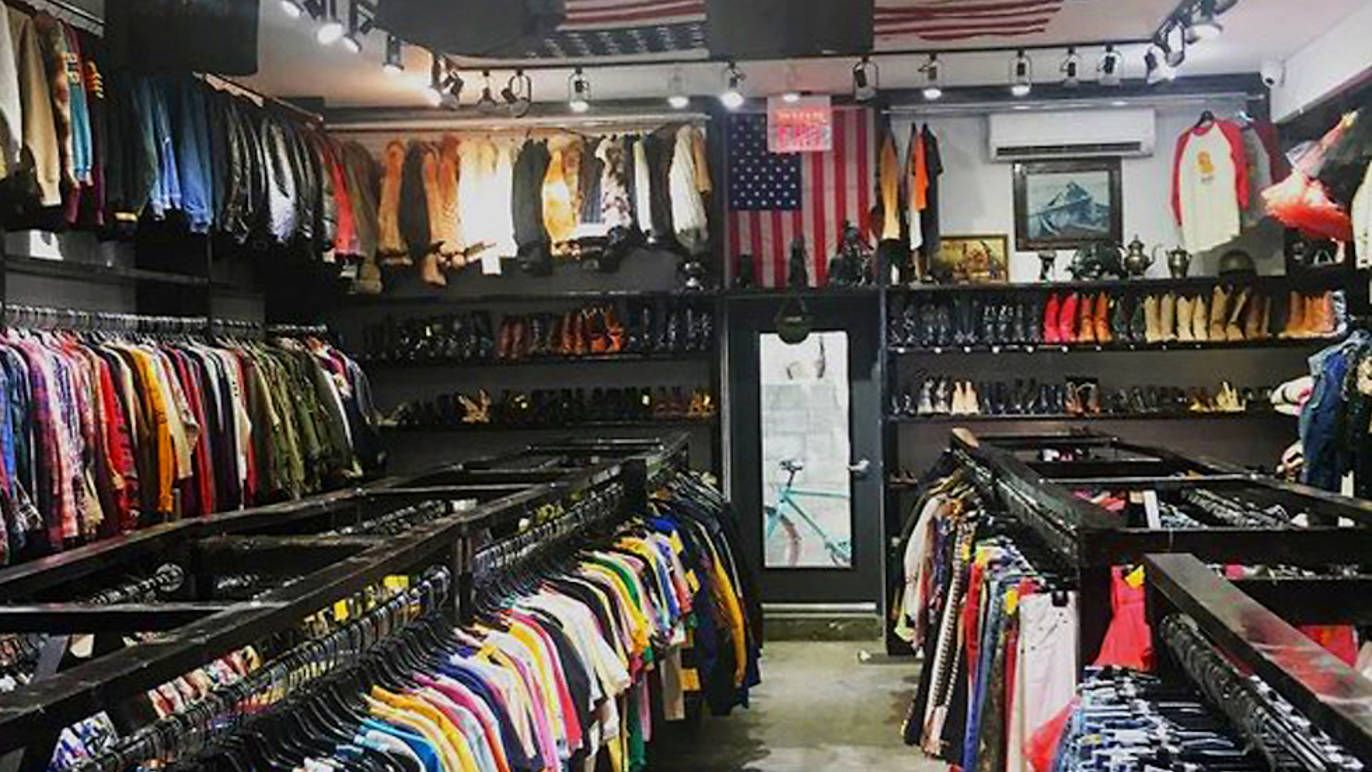 L Train Vintage Vintage Stores Nyc Cheap Clothing Stores Thrifting
