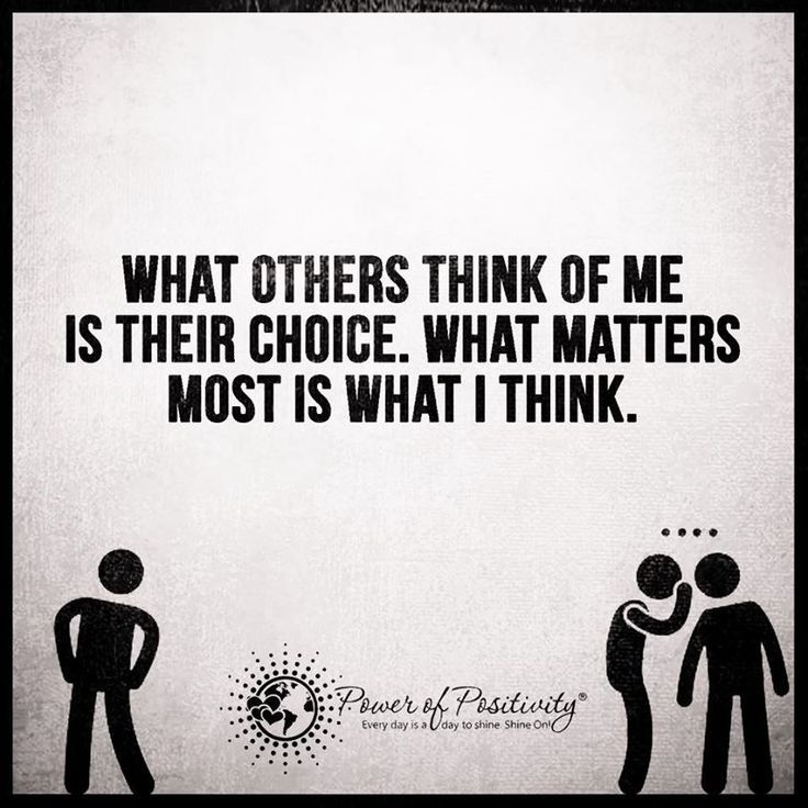 What others think of me is their choice. What matters most is what I think. #powerofpositivity #positivewords #positivethinking #inspiration #quotes