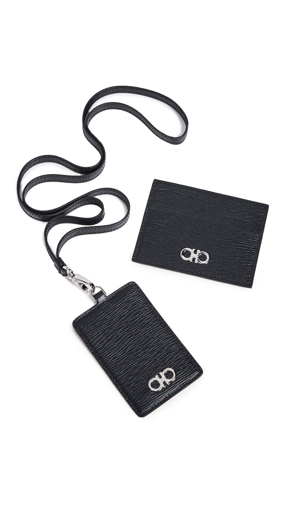 54e5364a056 SALVATORE FERRAGAMO REVIVAL GANCINI CARD CASE   LANYARD GIFT BOX.   salvatoreferragamo  bags