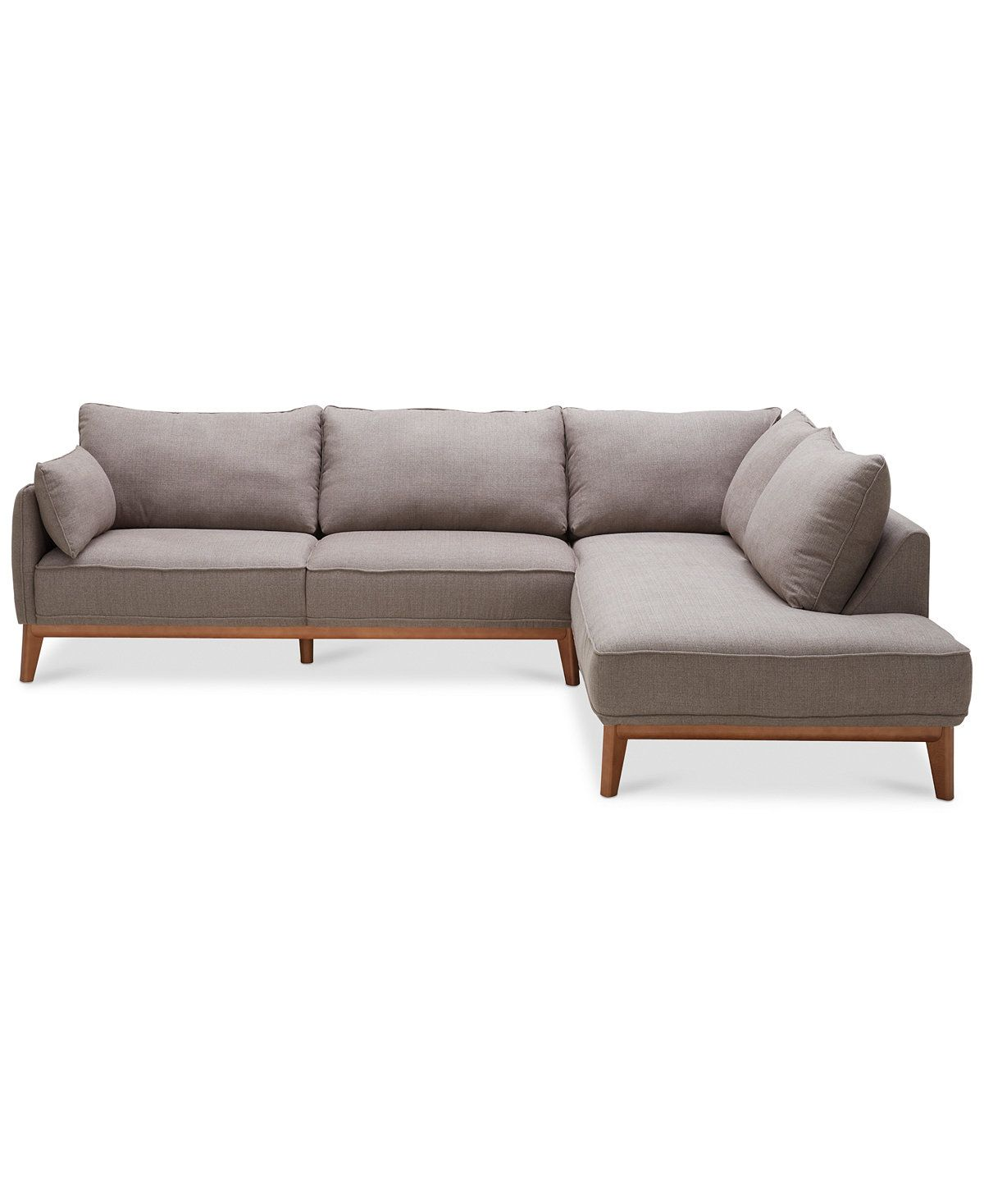Miraculous Jollene 113 2 Pc Sectional Created For Macys Living Gmtry Best Dining Table And Chair Ideas Images Gmtryco