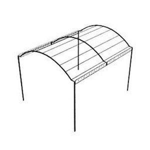 p rgola autoportante de hierro provence unopiu jardiner a pinterest pergolas iron. Black Bedroom Furniture Sets. Home Design Ideas