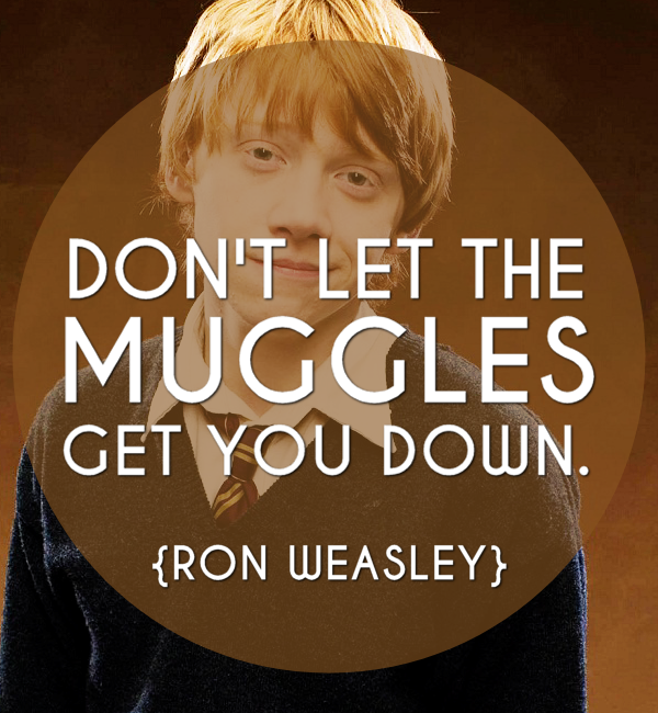 ron weasley inspiring quote