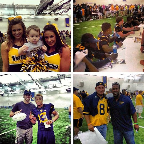 Some of our favorite shots from WVU Football Fan Day 2013