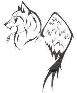Simple Wolf Tattoo Designs Simple Wolf Tattoo Wolf Tattoos Wolf Drawing