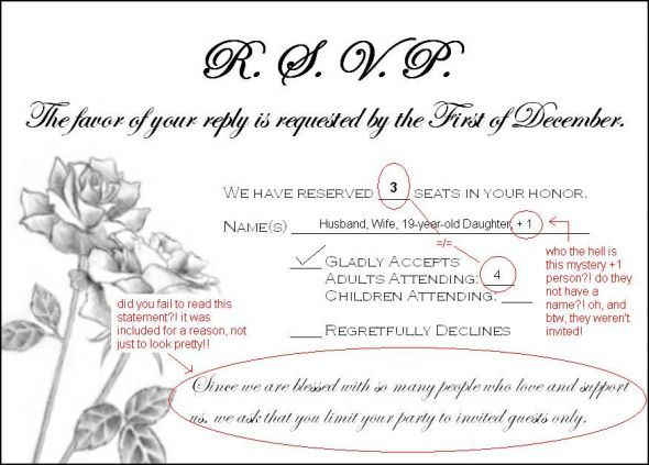 Wedding Invitation Verses Everything You Need To Know: Need (wording) Help Addressing Guests Who Rsvp'd For Extra