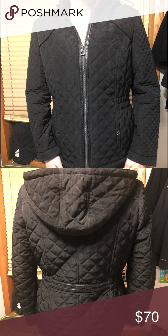 Laundry By Design Quilted Coat Medium Quilted Coat Coat Quilted