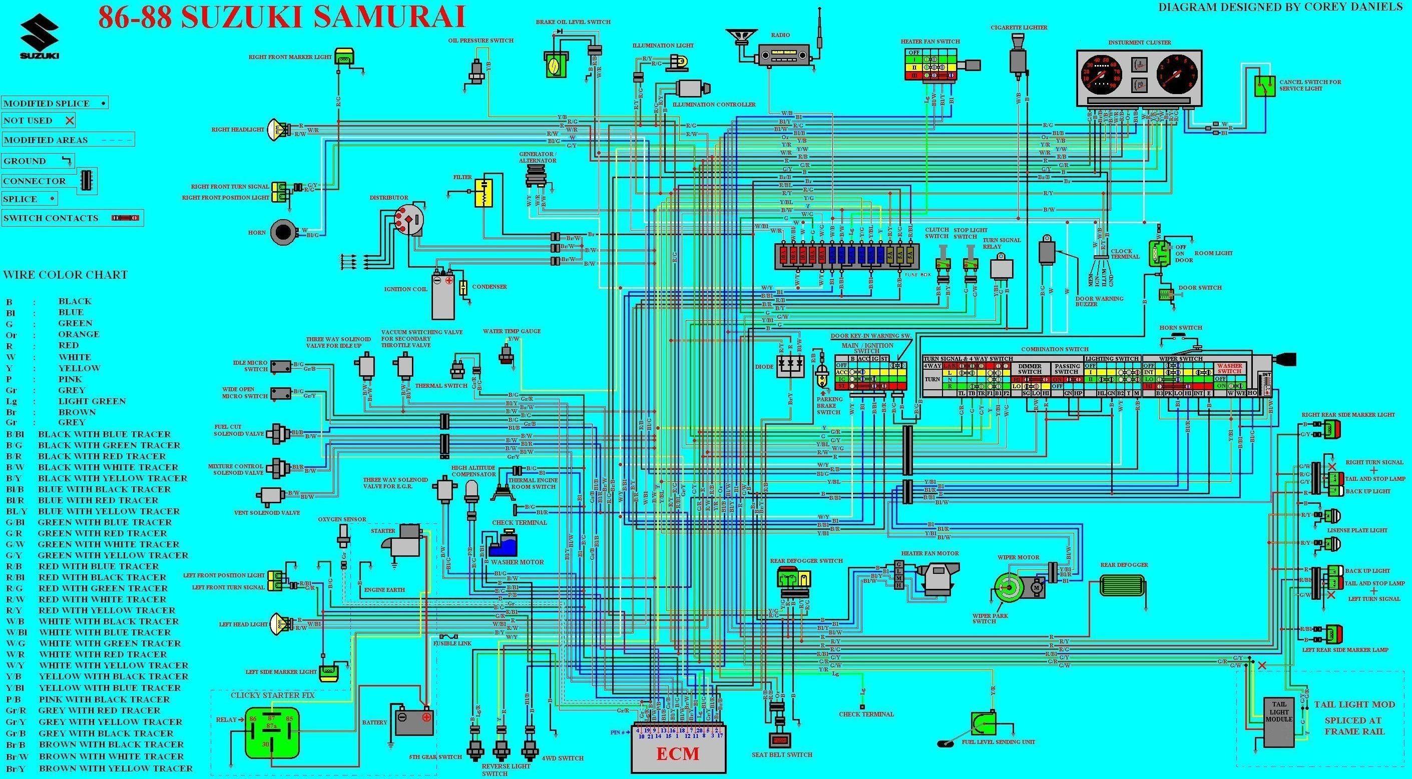 Suzuki Samurai Alternator Wiring Diagram In 2021 Suzuki Samurai Alternator Wiring Diagram Alternator