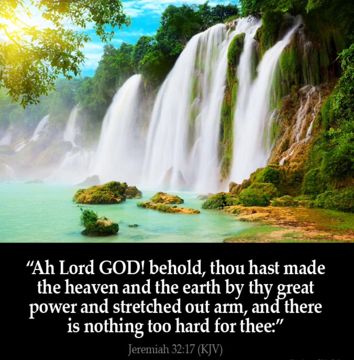 jeremiah 32 17 almighty god u0027s creation pinterest jeremiah 32