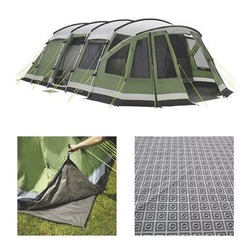 Outwell Georgia 7P Package Deal tent (with footprint and carpet). 3 bedroom.  sc 1 st  Pinterest & Outwell Georgia 7P Package Deal tent (with footprint and carpet ...