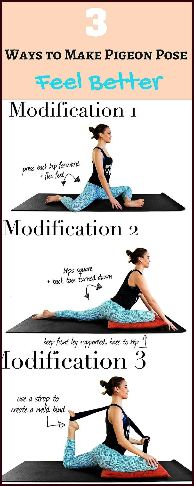 is an excellent hip opener practice that you should feel good about But if you feel awkward about it you can feel the magic with some m Pigeon pose is an excellent hip op...
