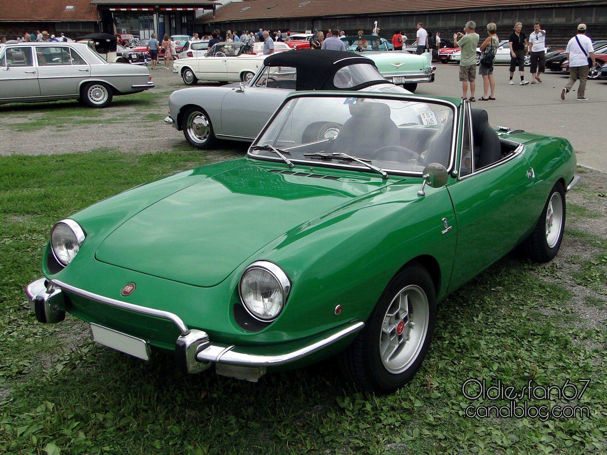 Fiat 850 Sport Spider 1968 Vehicles Pinterest