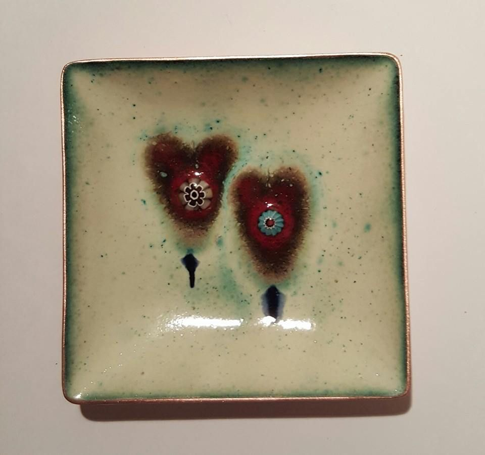 Contemporary Enamels - handmade jewellery and decorations