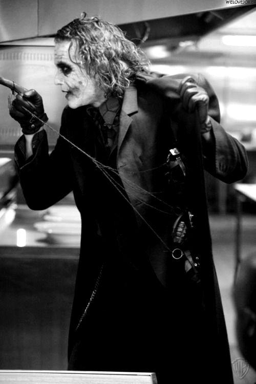 Joker heath ledger  :-)