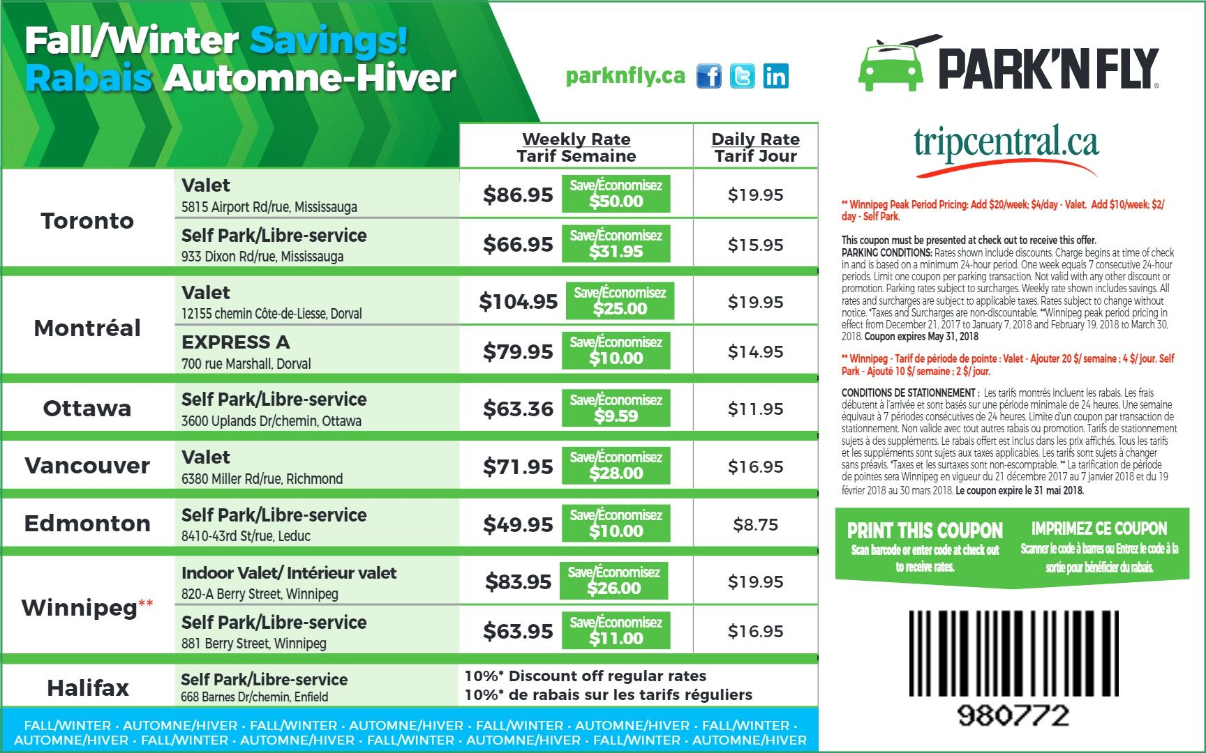 park and fly coupon