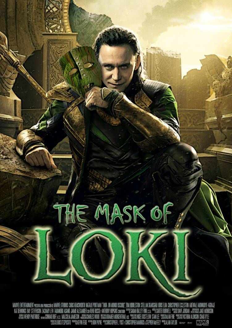 The Mask Of Loki By Blueprintpredator Marvel Superhero Posters Loki New Thor Movie