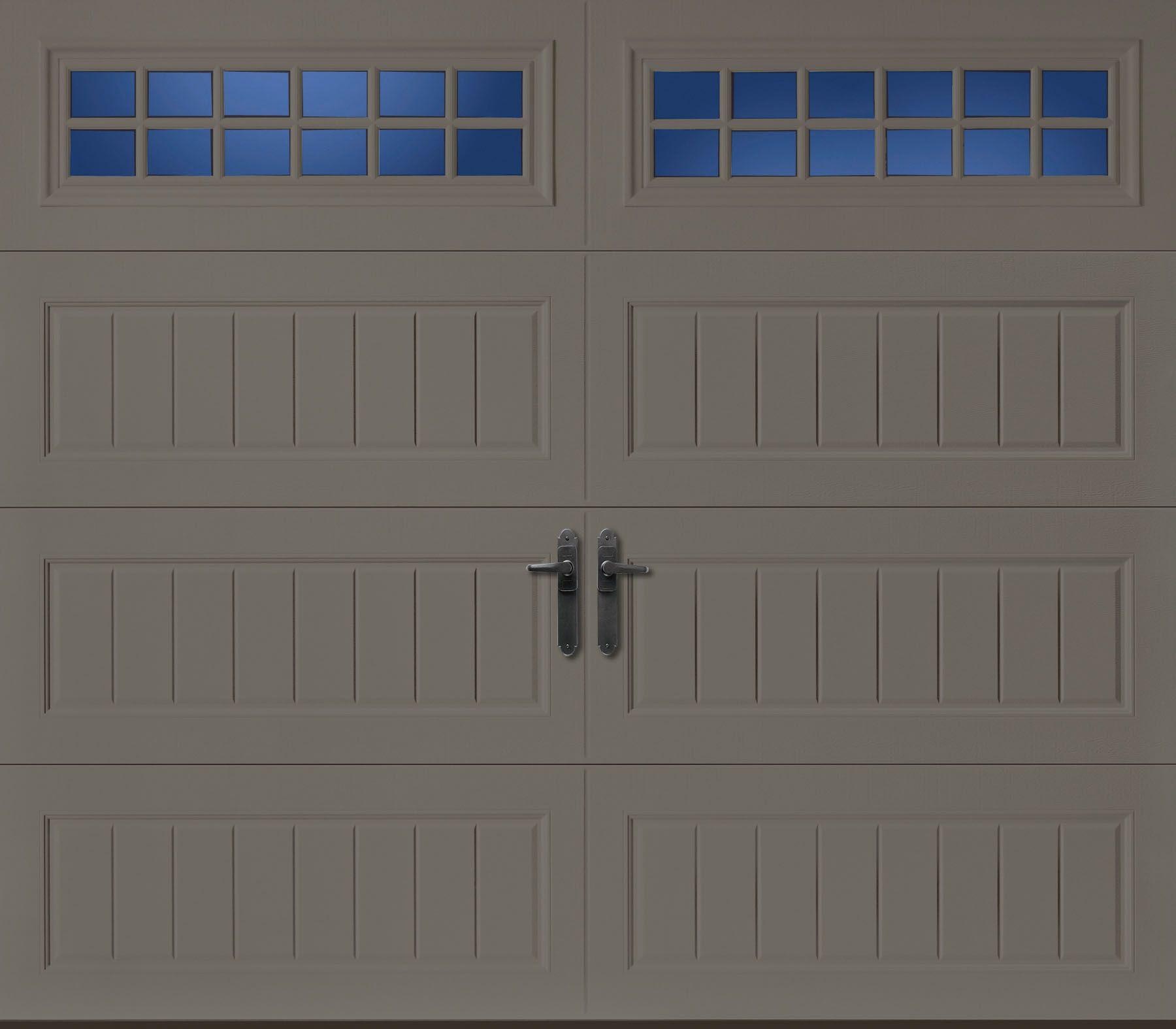 Amarr Oak Summit Garage Doors amarr oak summit long panel bead board with stockton window