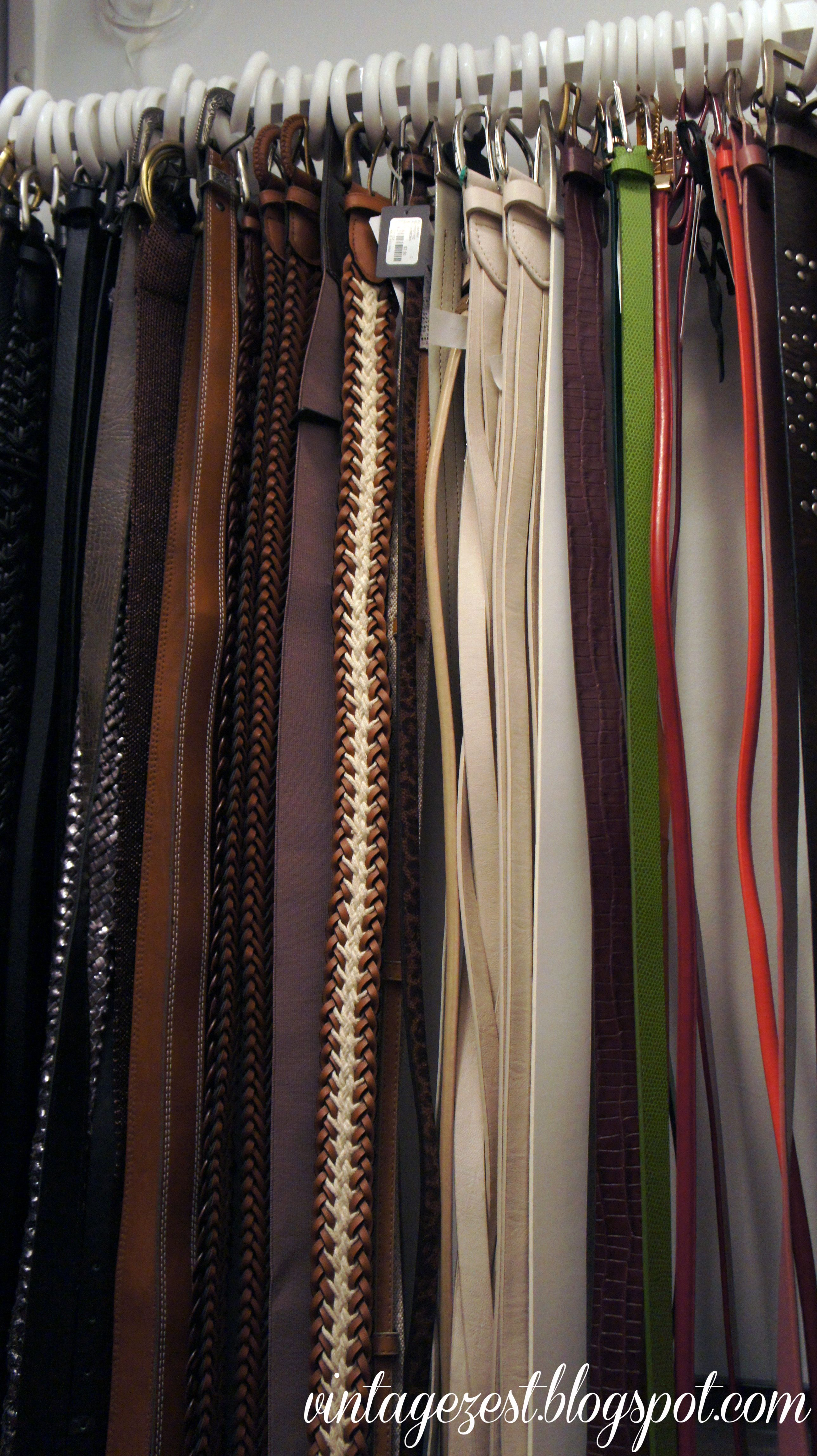 DIY Belt Organization (on A Budget!) To Recreate This, You Will Need