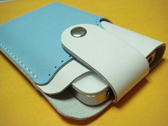 Leatherprince Handmade iPhone 4 leather case  by leatherprince, $49.50