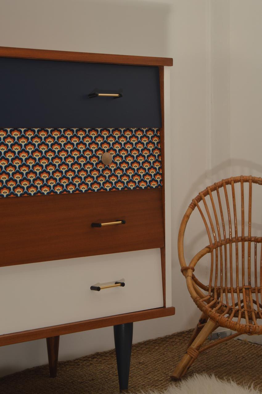 Commode Vintage Petronille 3 Relooking De Mobilier Meuble Deco Meuble Vintage