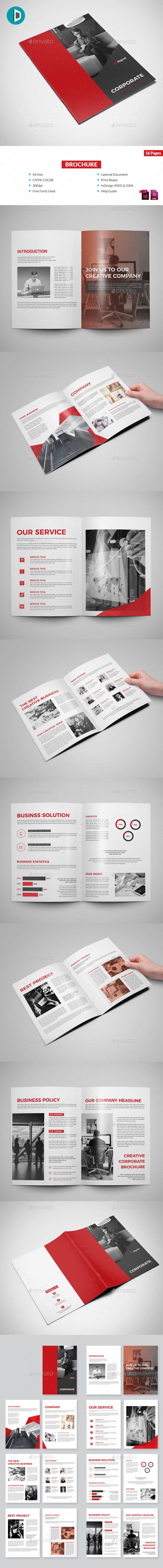 Brochure Template InDesign INDD | Brochure Templates | Pinterest ...