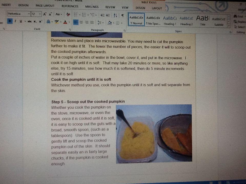 pumpkin pie part 2
