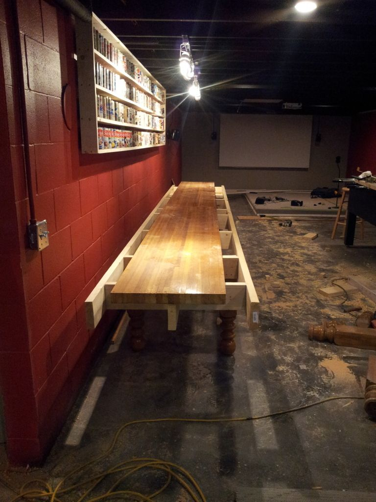 DIY Shuffleboard   Page 3   AVS Forum | Home Theater Discussions And Reviews