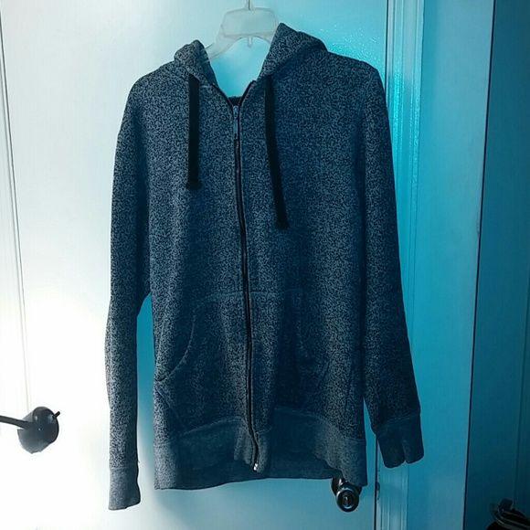 Black/white hoodie Foot Locker hoodie..used foot locker Tops Sweatshirts & Hoodies