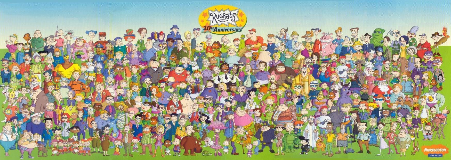 List of Rugrats characters Rugrats characters, Old
