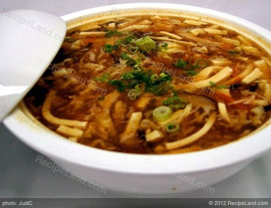 Chinese Hot And Sour Pork Soup Hot And Sour Soup Pork Soup Recipes Food