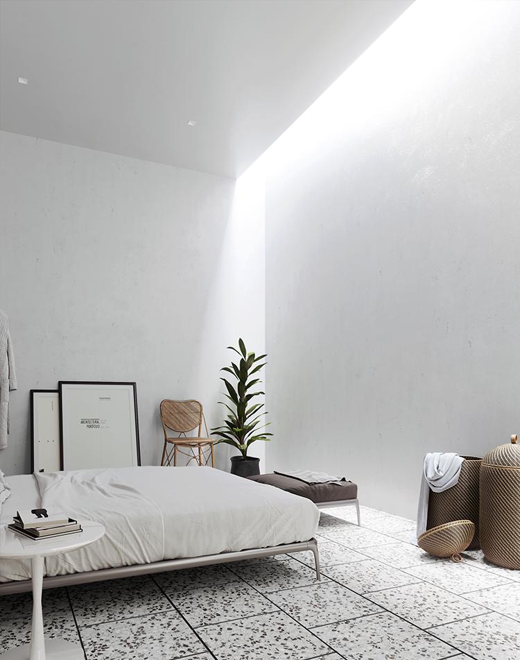 Cozy bedroom without windows Bedroom window design