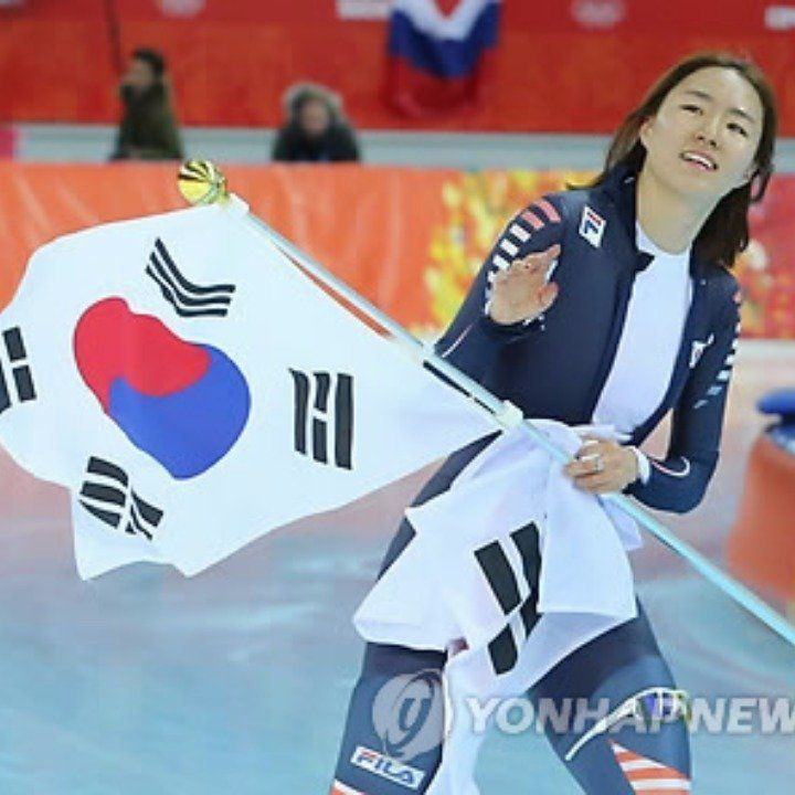 Lee Sang Hwa won a gold medal in the speed skating Women 500m in 2014 Sochi Olympic. She set a new Olympic record and became the queen of ice. She changed her event from short track to speed skating and it was successful. I was happy to watch Sochi Olympic thanks to her and I hope her to do well in the next Olympic. Also, we can see her many times on TV because she has a talent in entertaining. I hope her to do well in both entertainment and skating.