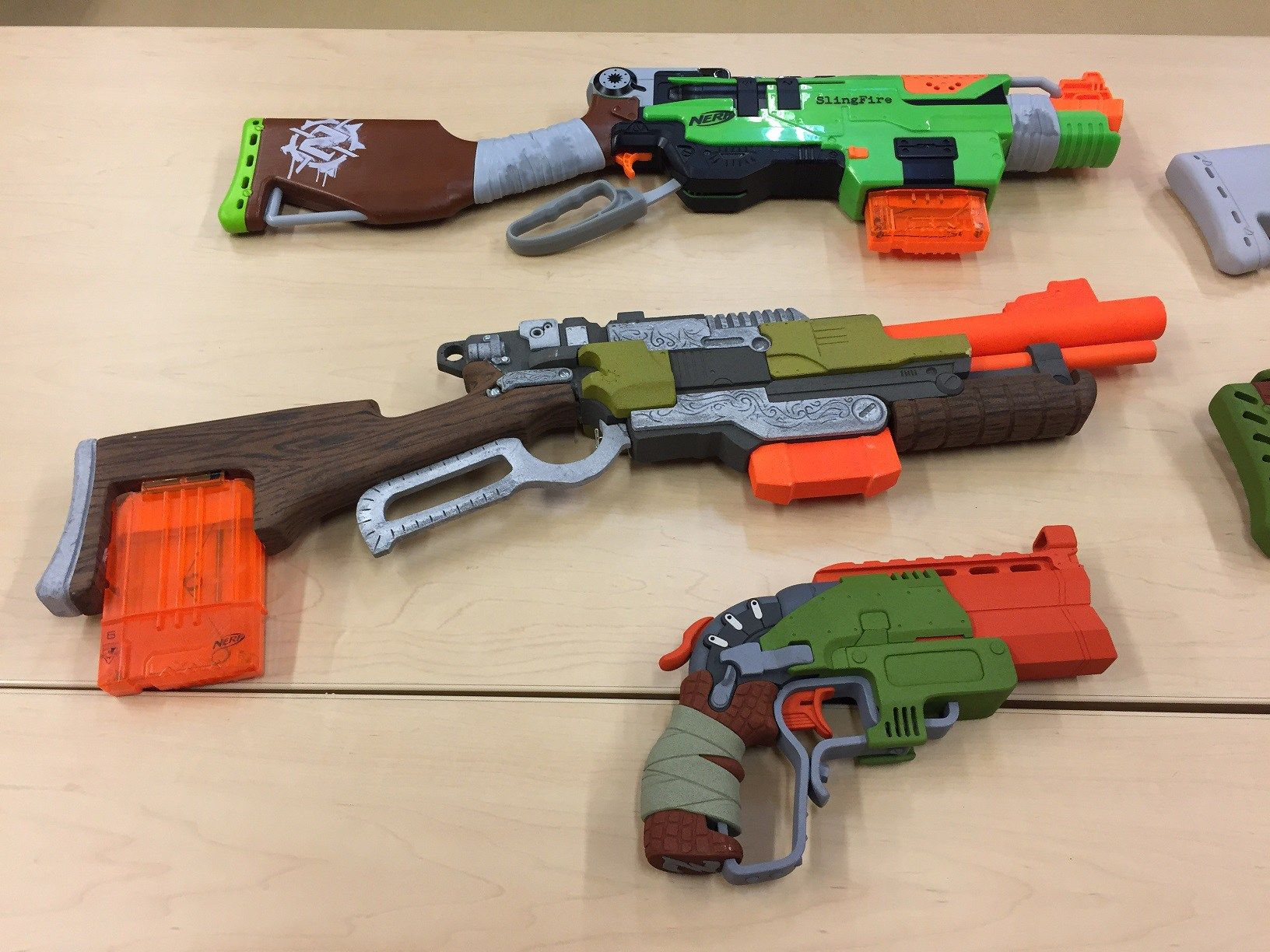 Dart Gun Schematic on
