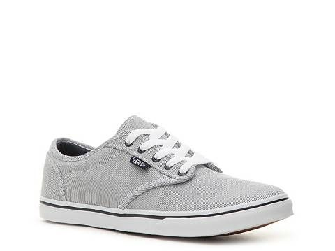 vans atwood low grey blue