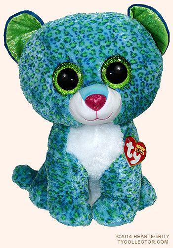 8f27d10df35 Leona (large) - leopard - Ty Beanie Boos