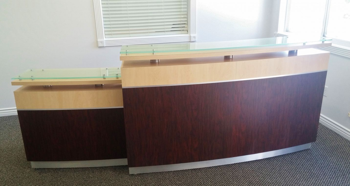 Used Office Reception Desk Luxury Home Furniture Check More At Http